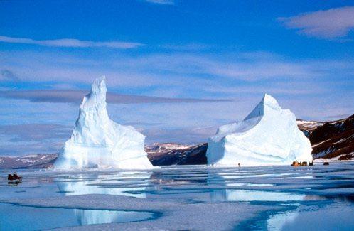 The Twin Icebergs