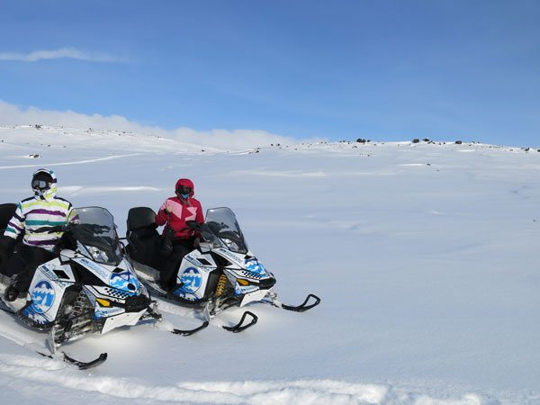 Olivia-Snowmobiling