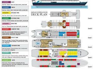 Ocean Endeavour Deck Plan