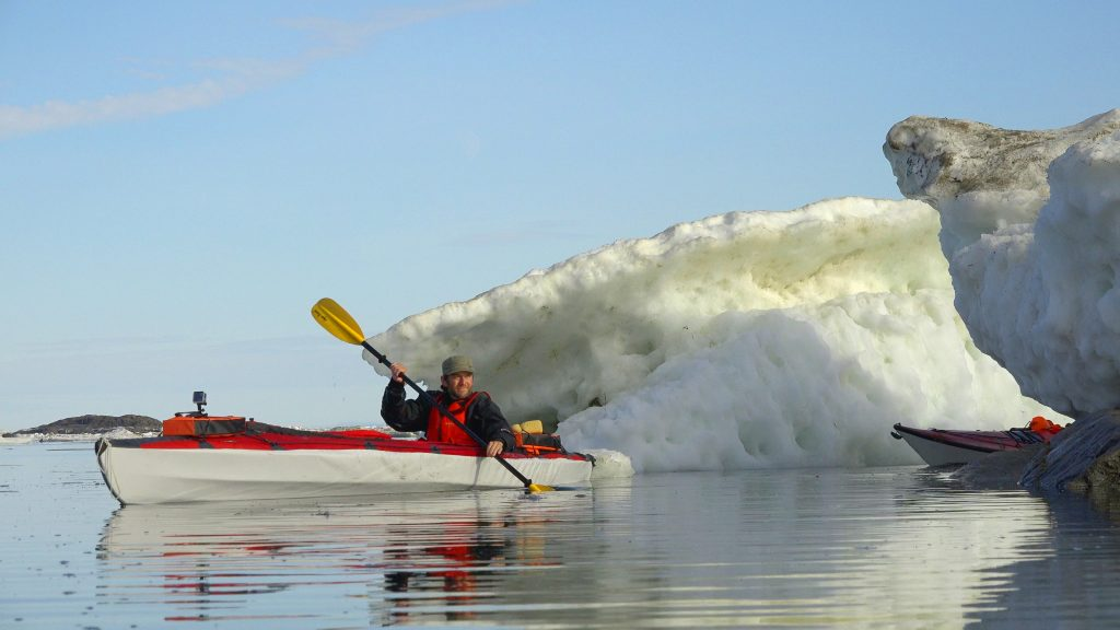 Cory Trepanier Iqaluit Arctic Summer kayaking