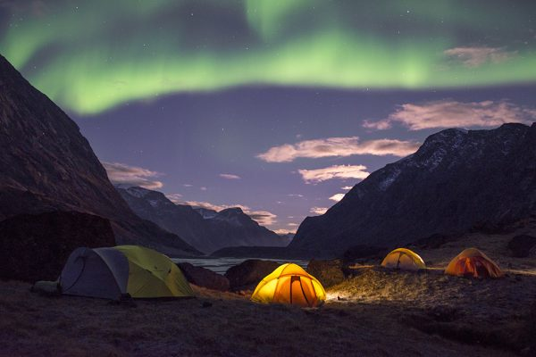 Auyuittuq National Park_Northern Lights_Arctic Kingdom
