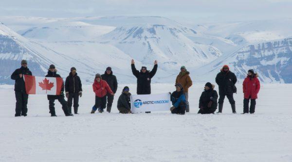 Arctic Kingdom touring team