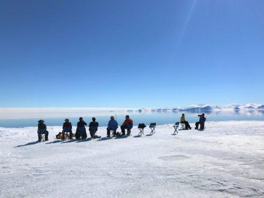 Ice break up in arctic