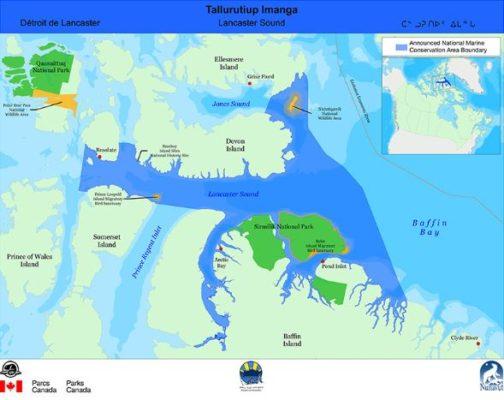 Lancaster Sound - Park Map