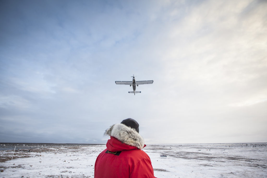 Fly-In Experience in the Arctic