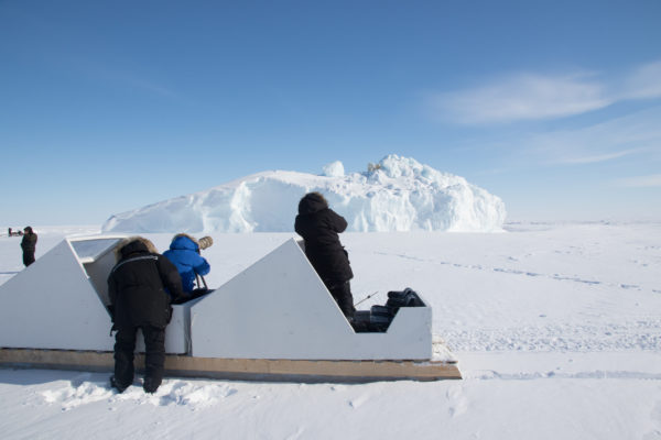 Family photo opportunities in the Arctic