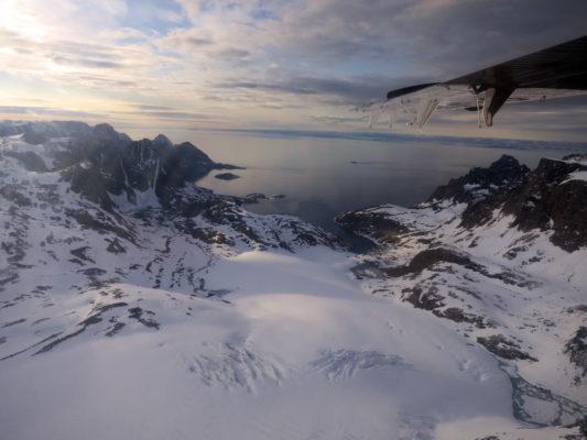 Bird's eye view of Arctic