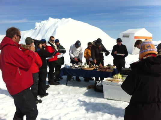 Arctic group trip