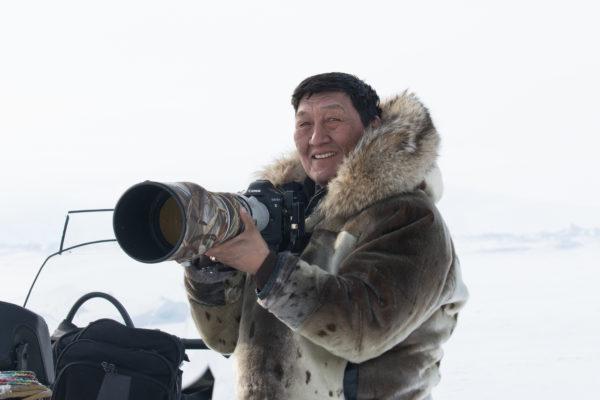 Photographer in Nunavut