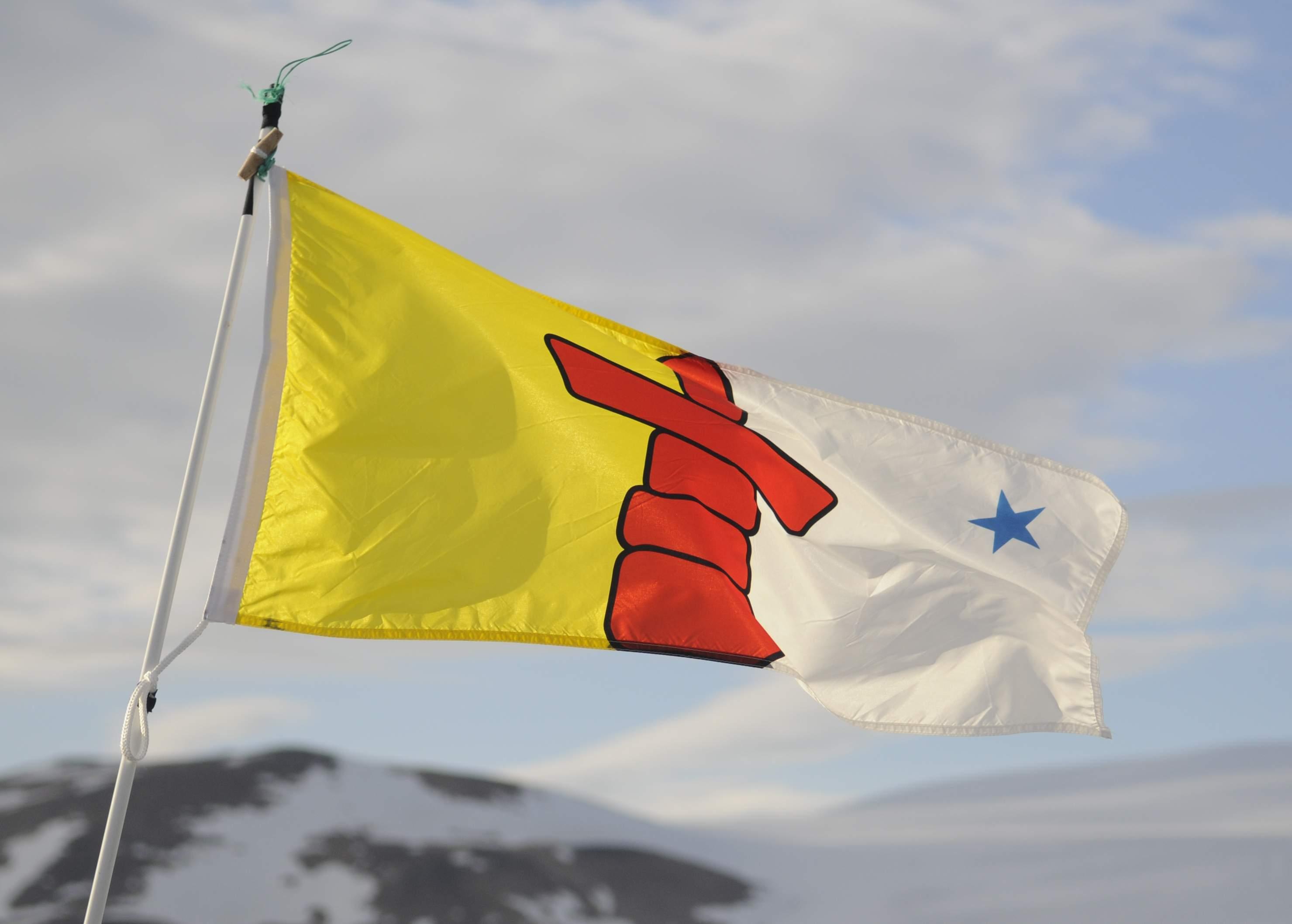 Nunavut Flag