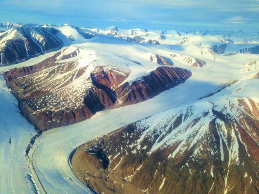 Arctic Cordillera Mountains
